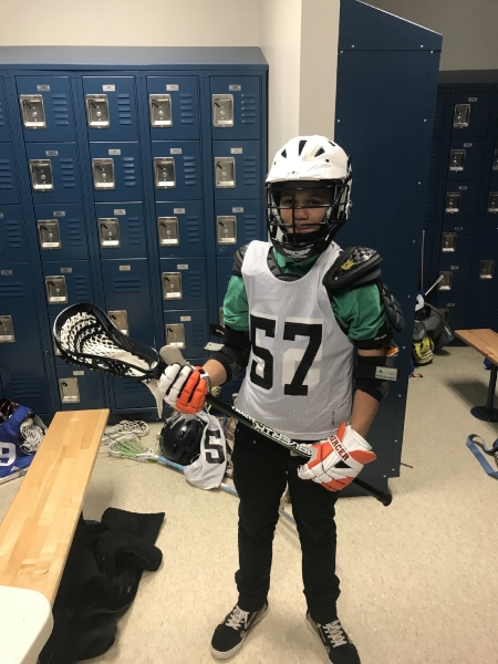 """""""Lacrosse helps me work harder to get better grades and I am now excited to come to school everyday.""""     - Izaack (8th grade)"""