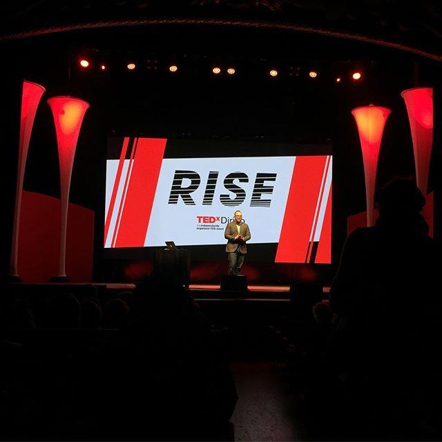 Inspiring afternoon at TEDx Dirigo. #tedxdirigo #community #humblehonestcare