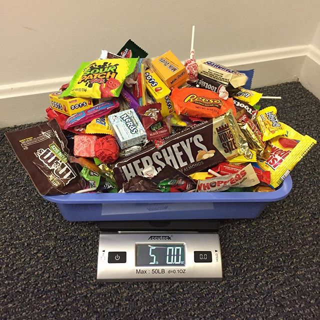 Here is some of the loot from last night. Thank you to all the kids who sold us their candy! These sweet treats are on their way to troops overseas. #candybuyback #halloweencandybuyback #brunswickme #humblehonestcare