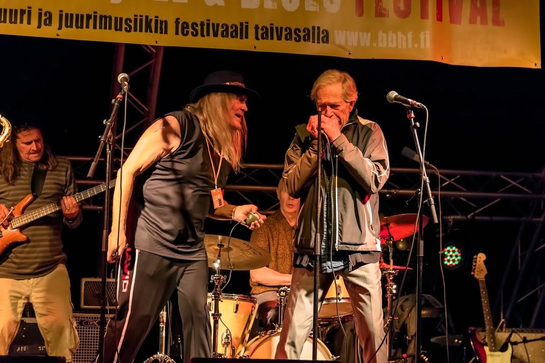 Sinner´s Soul + Bill Öhrström (Sweden), voc, harp