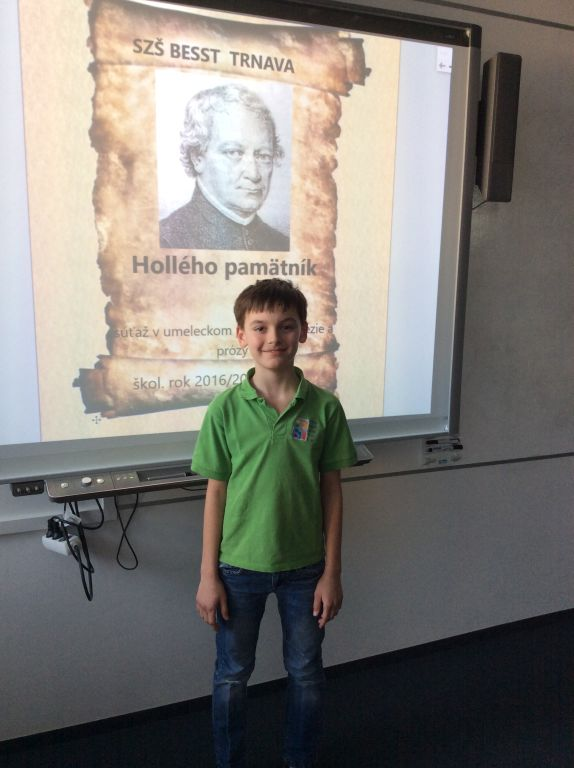 15.2.2017 – Memorial of J. Hollý – school round Y5-Y9