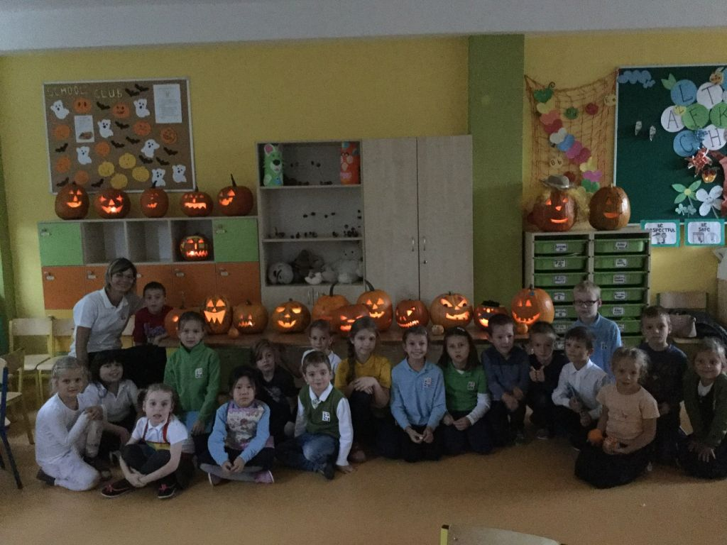 Pumpkin party in School Club