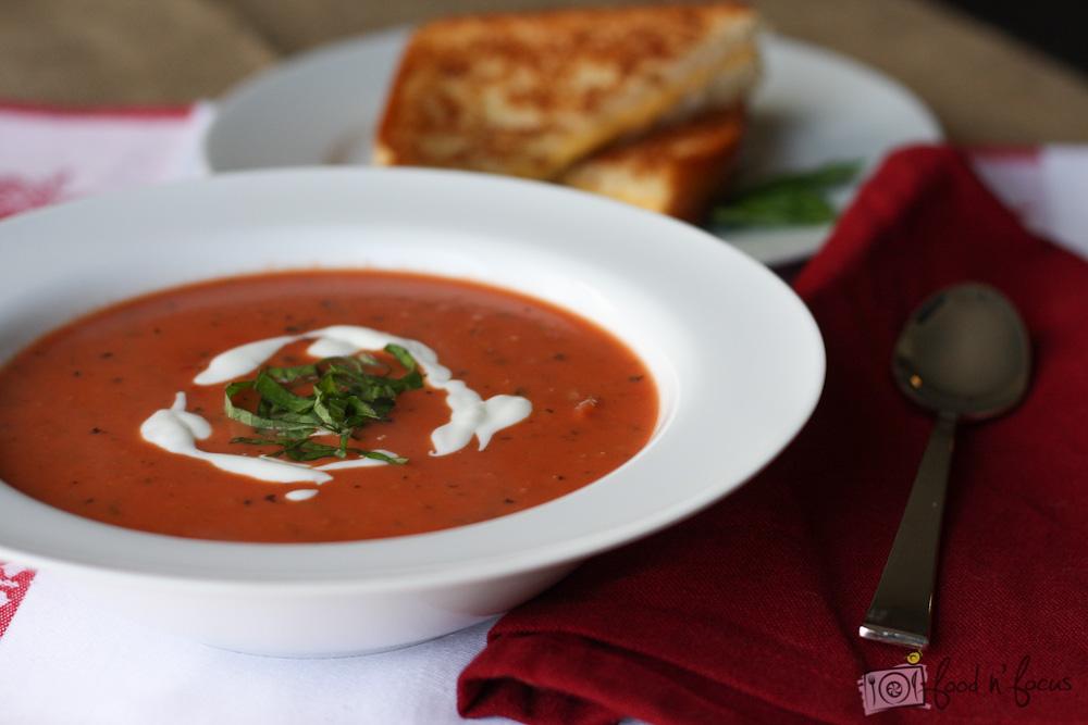 Paradajková polievka -