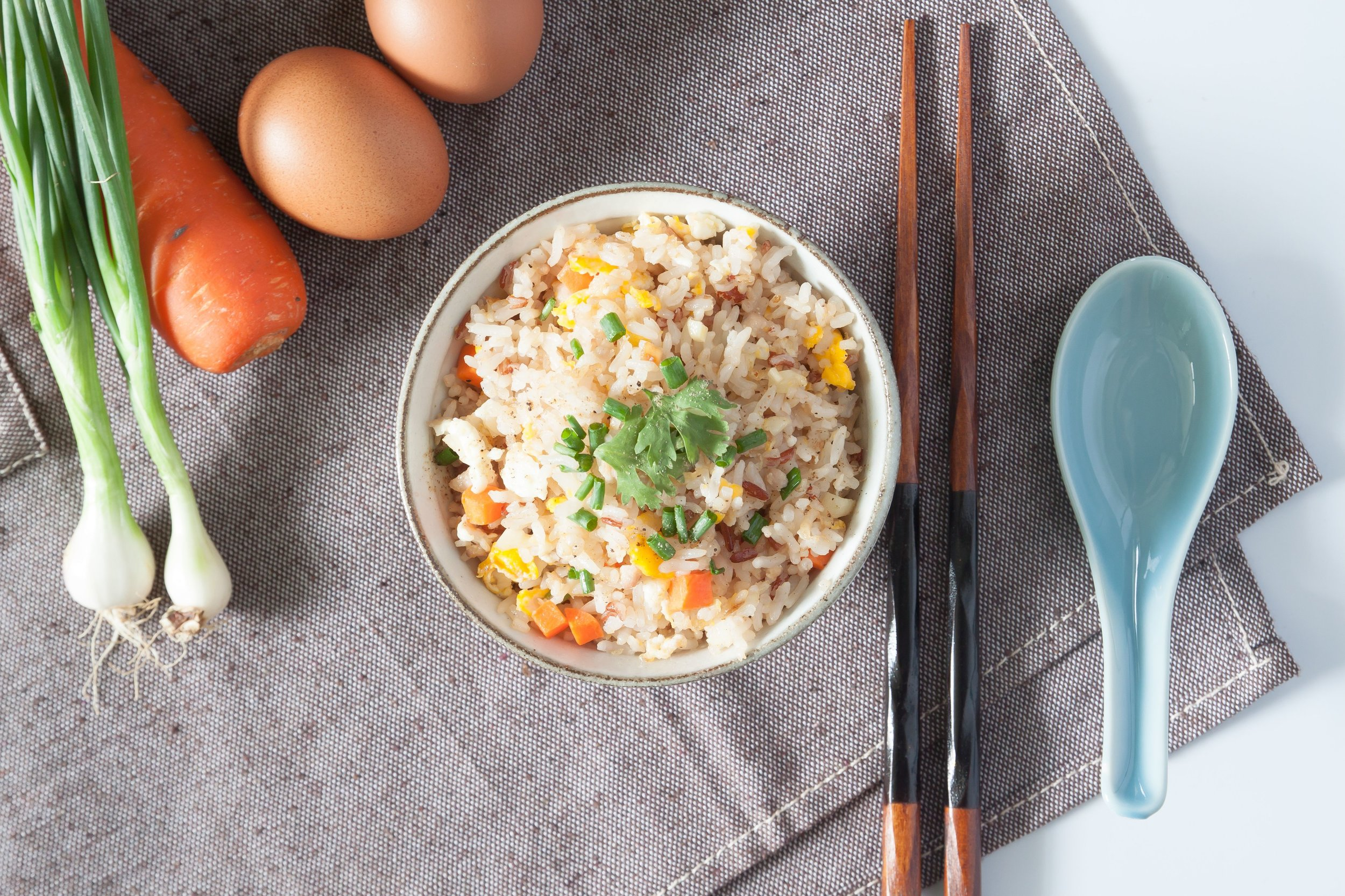 Zeleninové rizoto s tofu syrom -