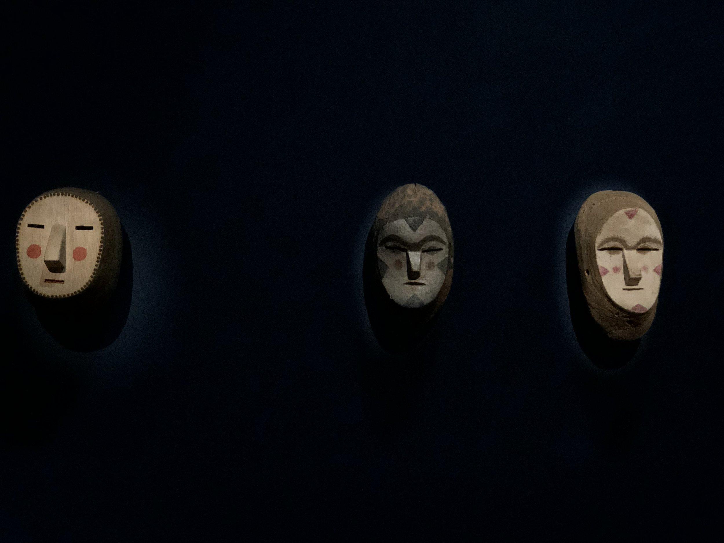 Above; Chiriguano-Guaraní, Anonymous, Aguero-guero, c. 2000, c. 1990, c. 1990