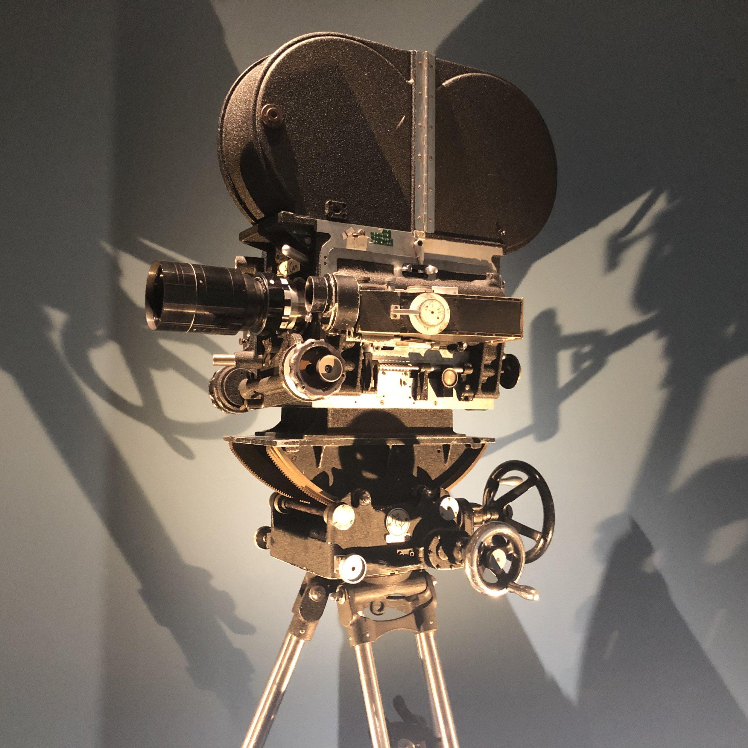 Kubrick's camera — one of many