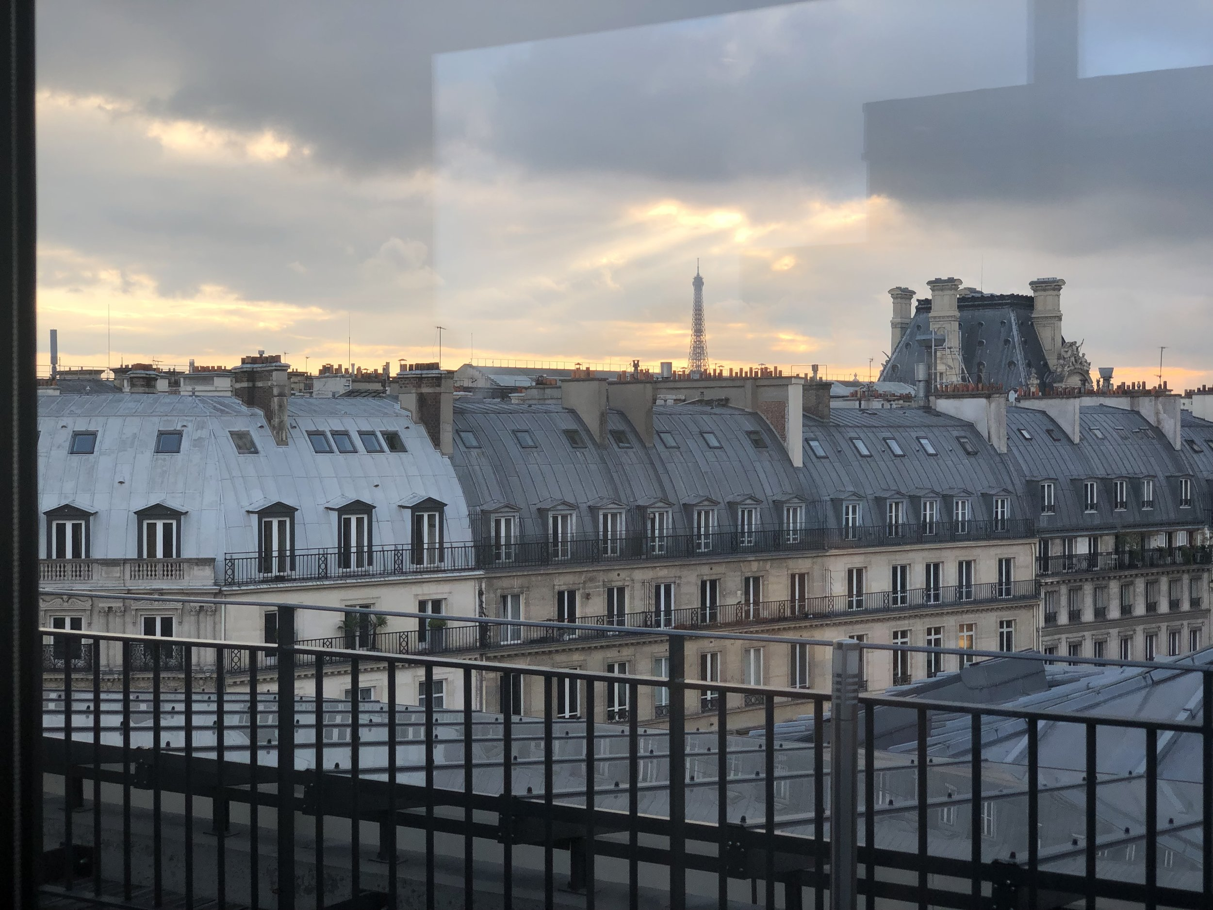 View from the rear of the modernised extension of the Comédie-Française overlooking the Palais-Royal located in the 1st arrondissement