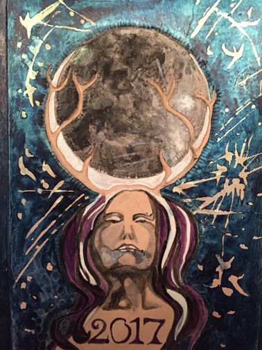 Stag Horn Moon