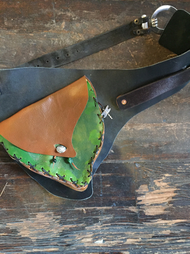 Leaf Hipster Belt  -$85 -