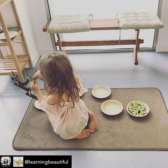 Repost from @learningbeautiful - Beautiful photo from @colori.education, and Coralie Dellopoulos - a young girl is learning about the Binary Tree at a coding program through Colori in France. #montessori #computationalthinking  #handsonlearning