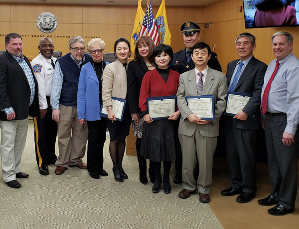 Bergen County Government Korean American Day Ceremony   -Judy Chang receives an outstanding business award.      http://ny.koreatimes.com/article/20190116/1225847