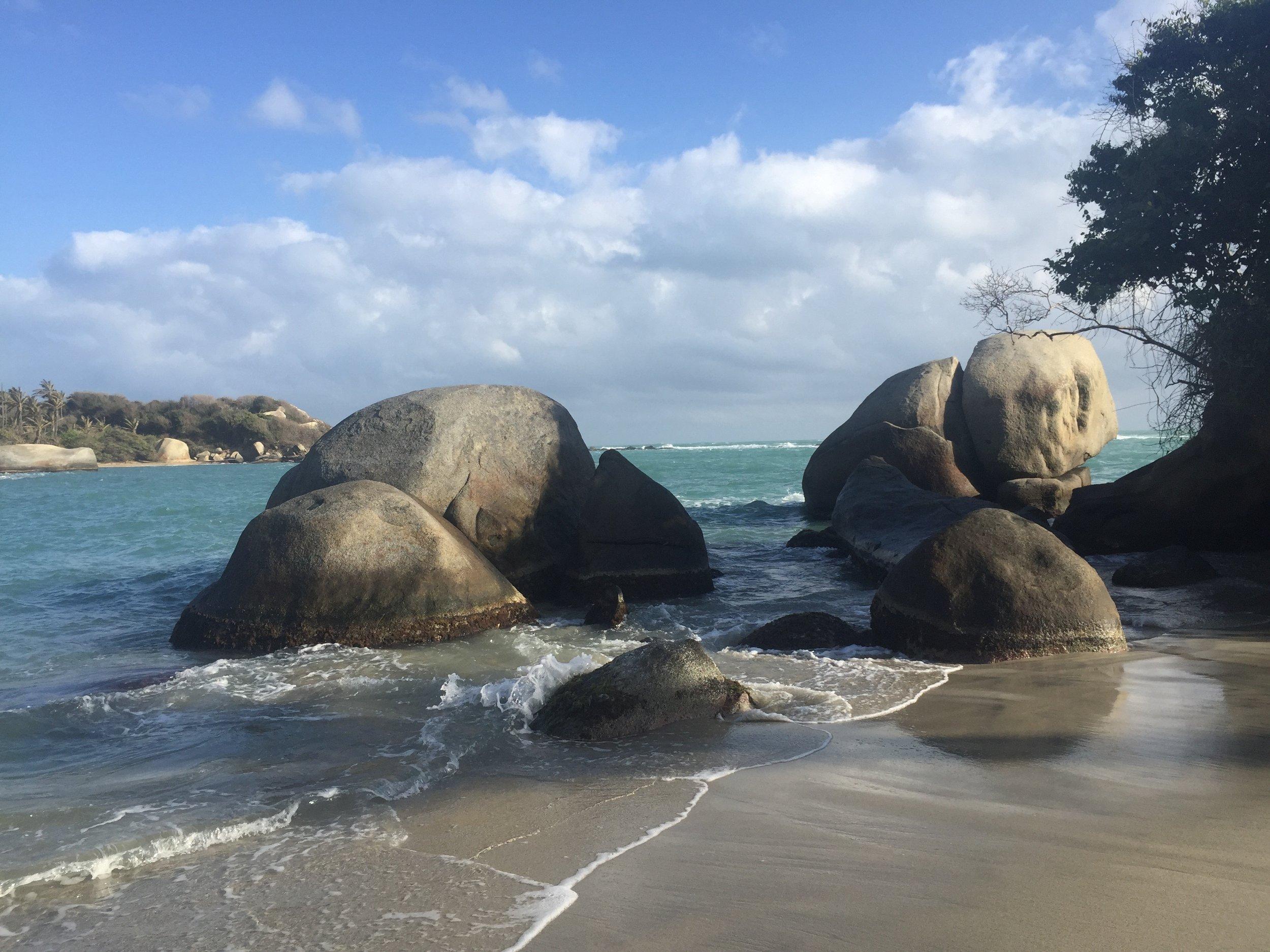 Playa Tayrona, Colombia