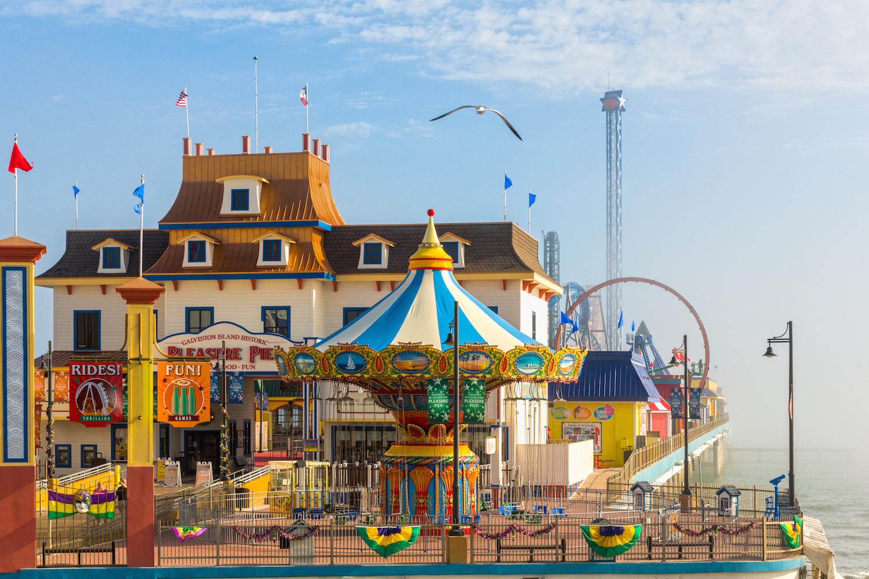Pleasure Pier Galveston Island