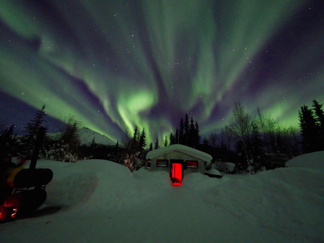 Cabin in Wiseman, Alaska. ISO 1600, f/2.8, 6.0s