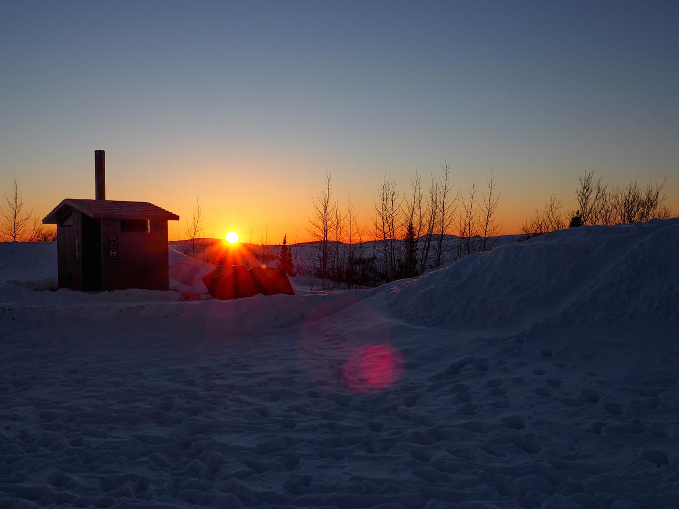 sunset over the arctic circle alaska.jpg