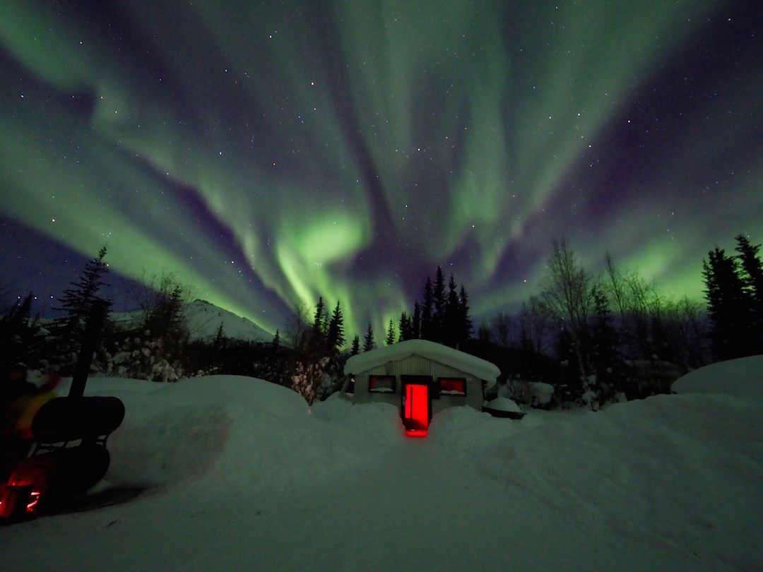 Northern Lights near Wiseman, Alaska