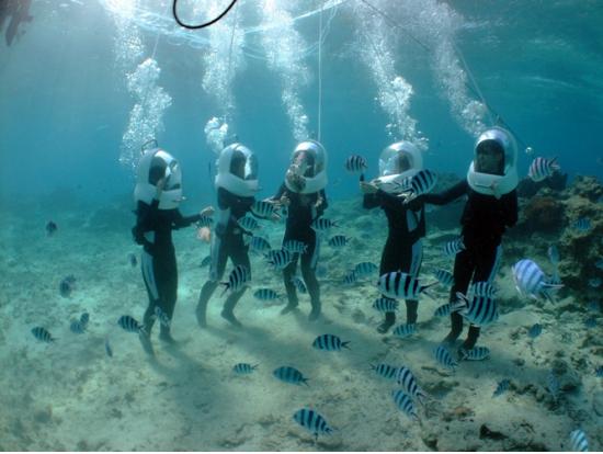 Underwater Seawalk