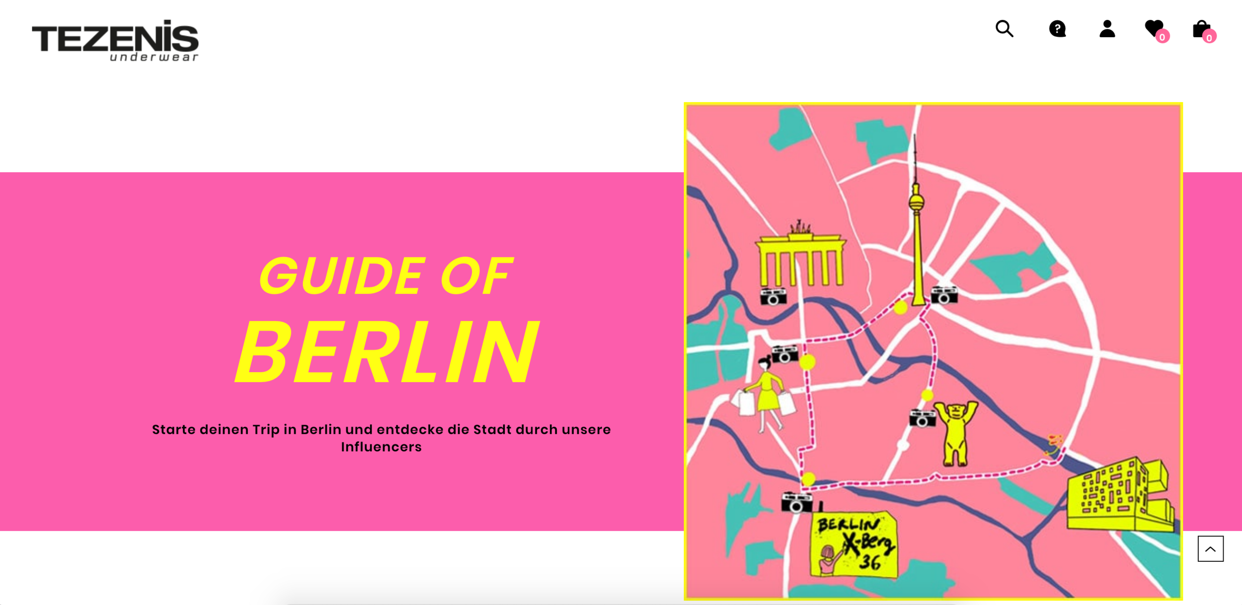 Tezenis (Calzedonia) Advertisement campaign  with my illustrated map