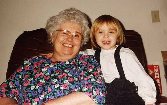- Stephanie and her Granny