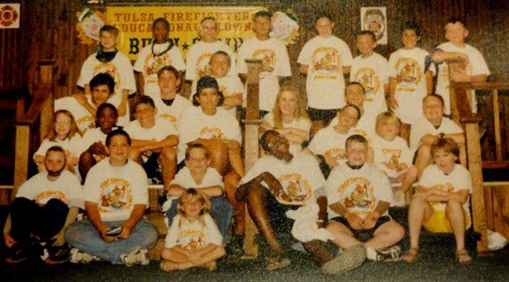 - Oklahoma Firefighter's Burn Camp 1999~ The Very 1st Year of CampSeth and Stephanie just happened to be sitting next to one another! Who would've thought?!