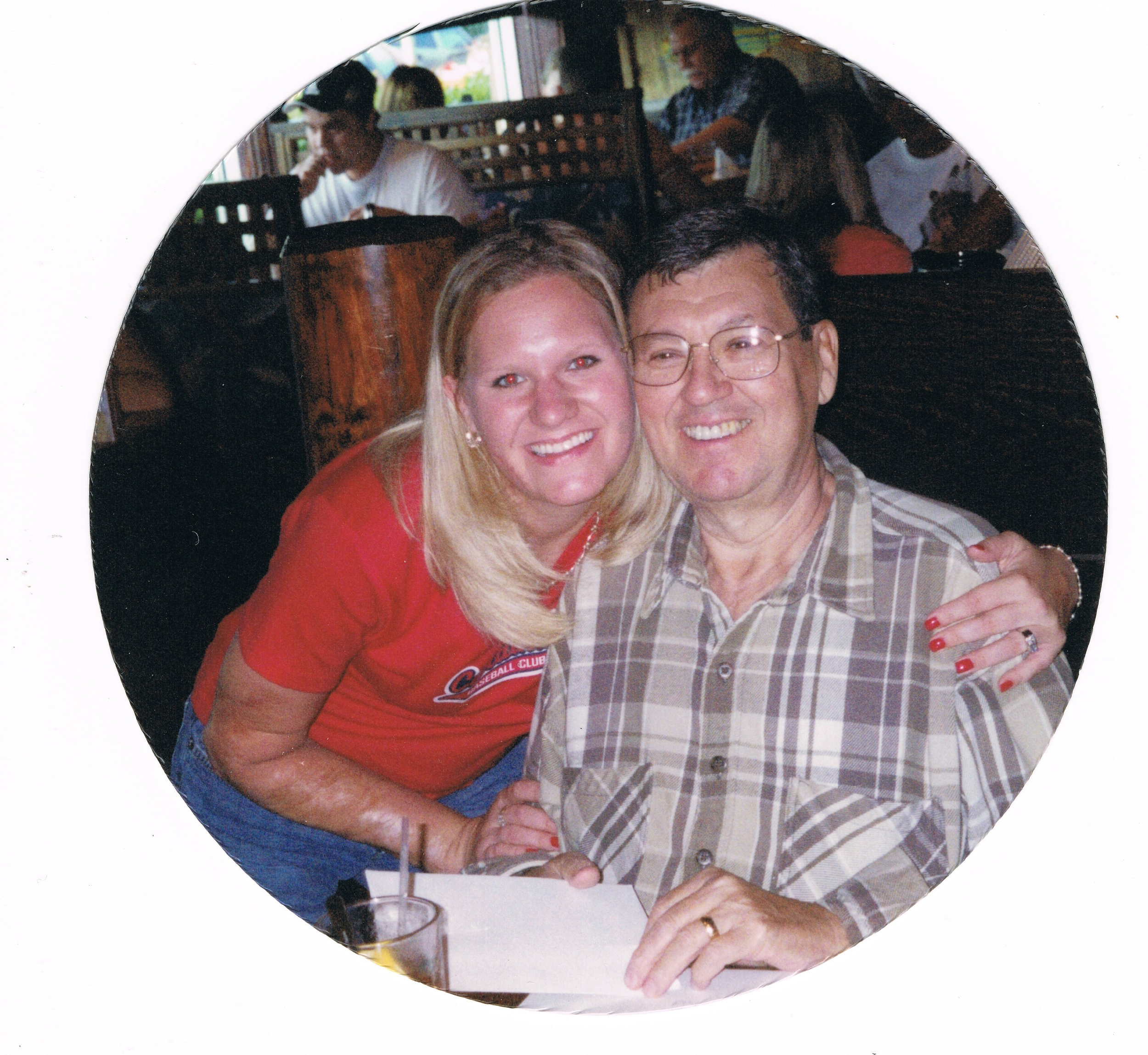 Dad and me - Father's Day - June 2004 -
