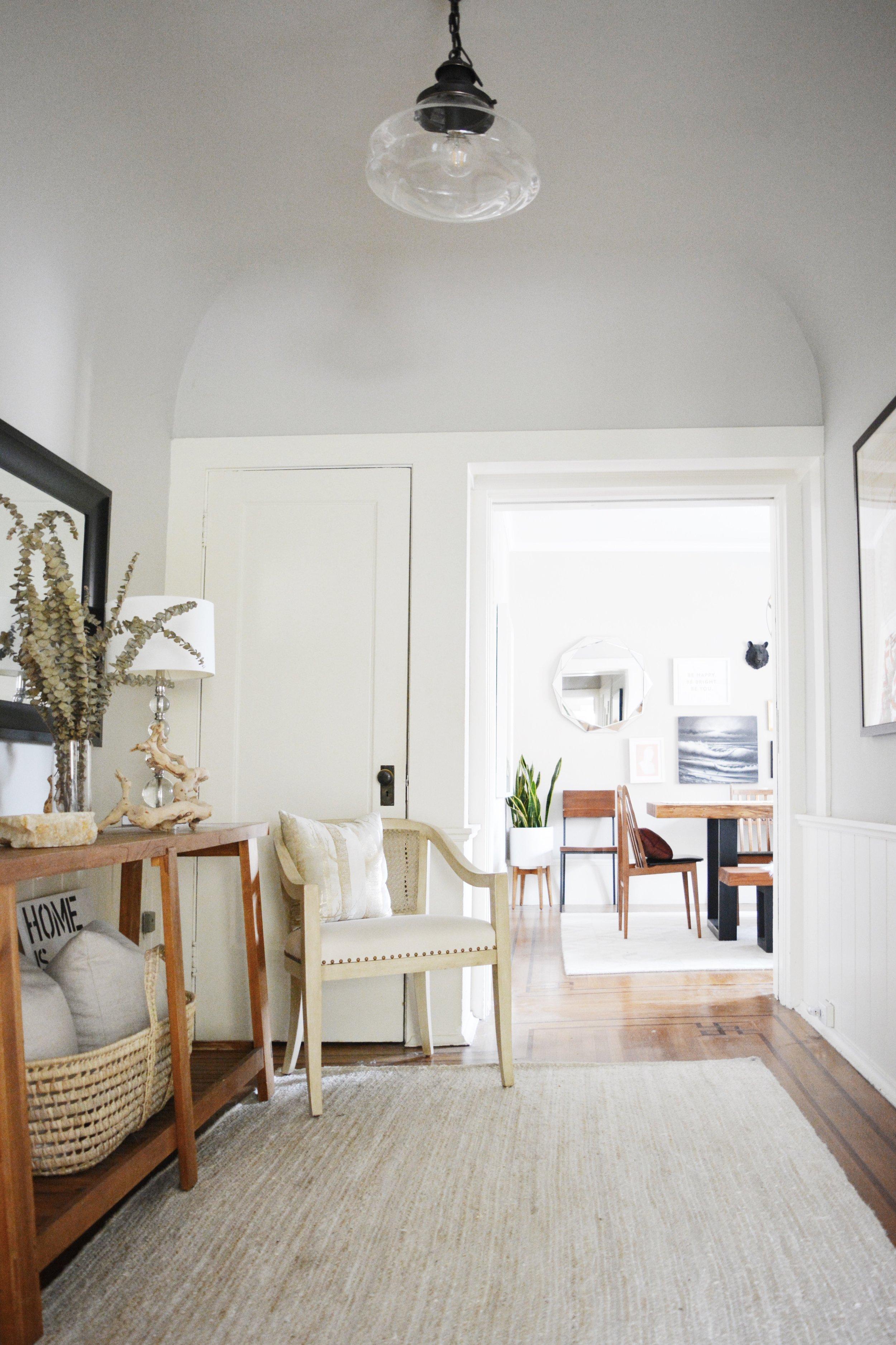 Angela Grace Design // Filbert Foyer // San Francisco and SF Bay Area Interior Designer, Decorator