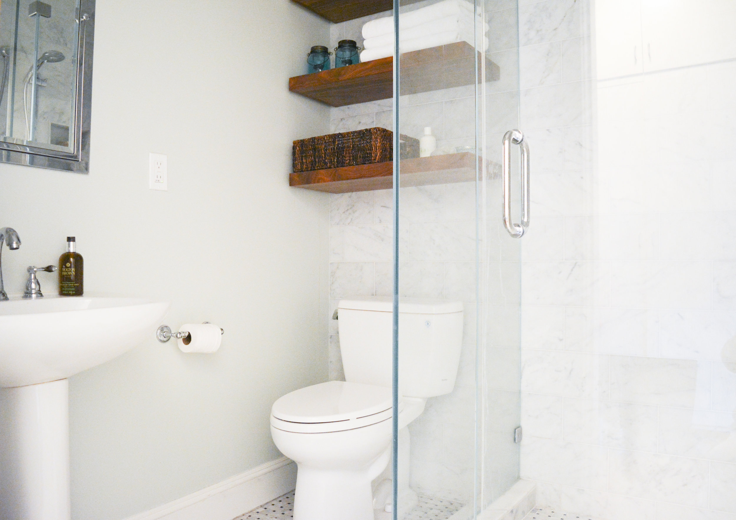 Angela Grace Design // Filbert Guest Bath // San Francisco and SF Bay Area Interior Designer, Decorator