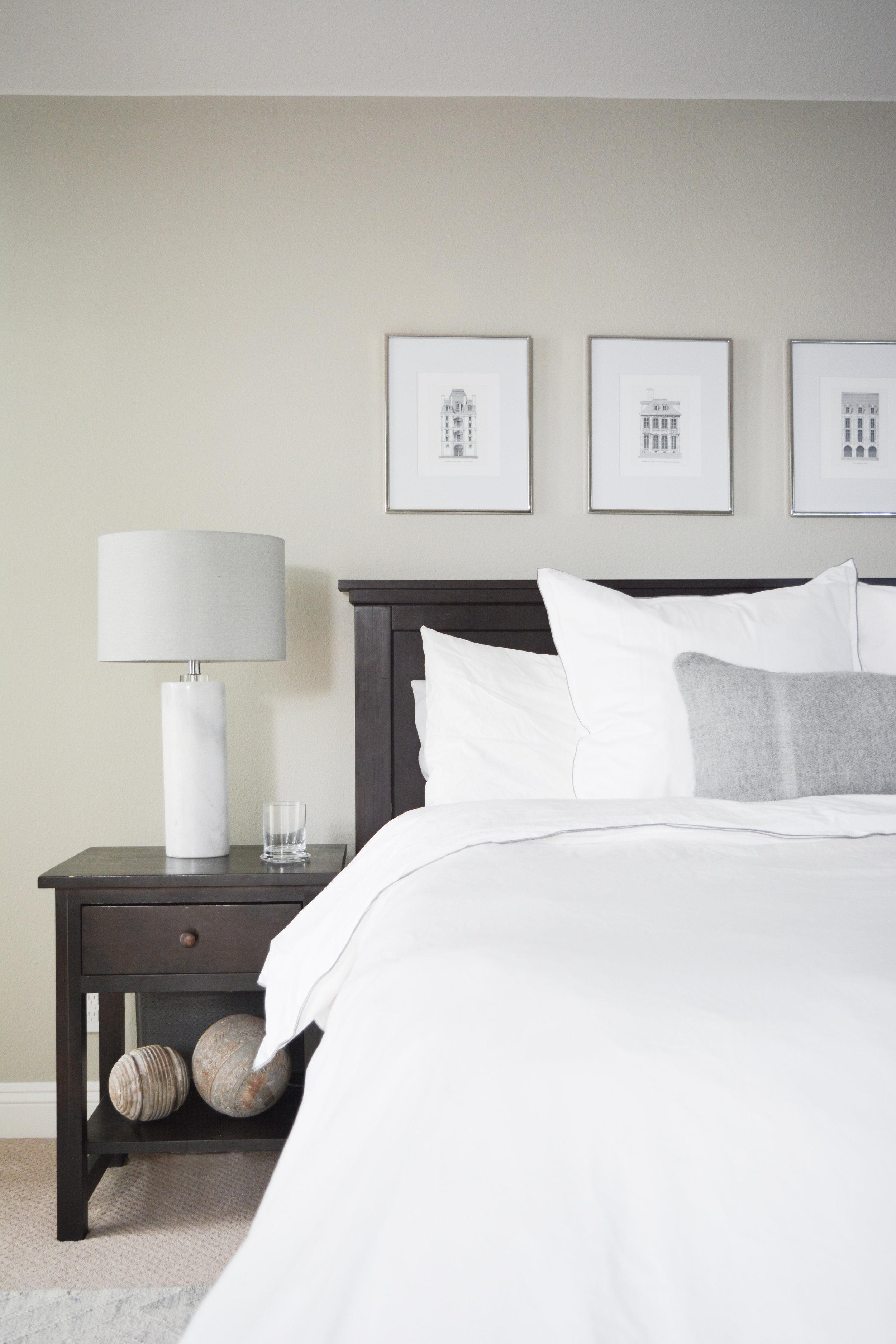 Angela Grace Design // Cambridge Master Bedroom // San Francisco and SF Bay Area Interior Designer, Decorator