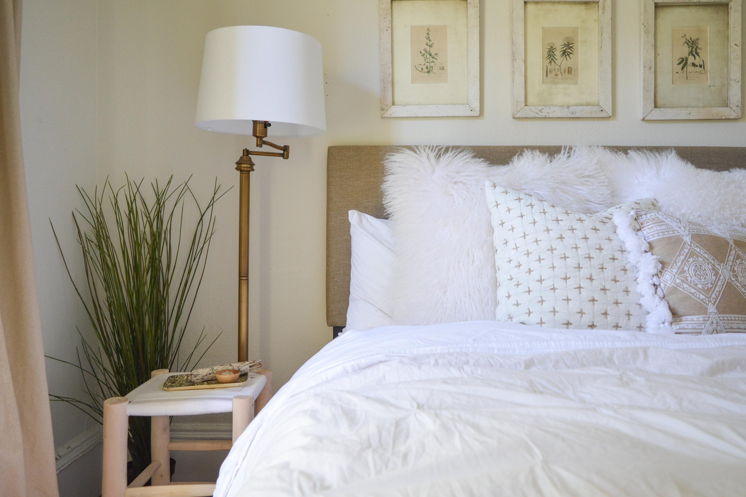 Angela Grace Design // Filbert Guest Bedroom // San Francisco and SF Bay Area Interior Designer, Decorator
