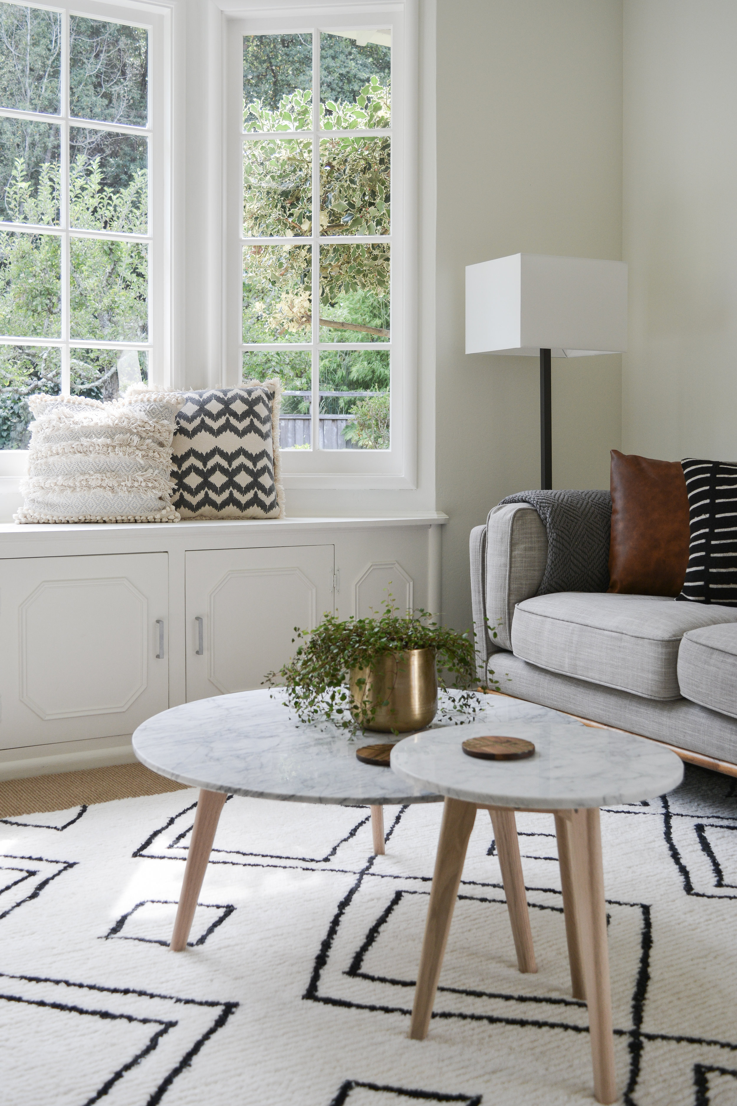 Angela Grace Design // Rollingwood Living Room // San Francisco and SF Bay Area Interior Designer, Decorator