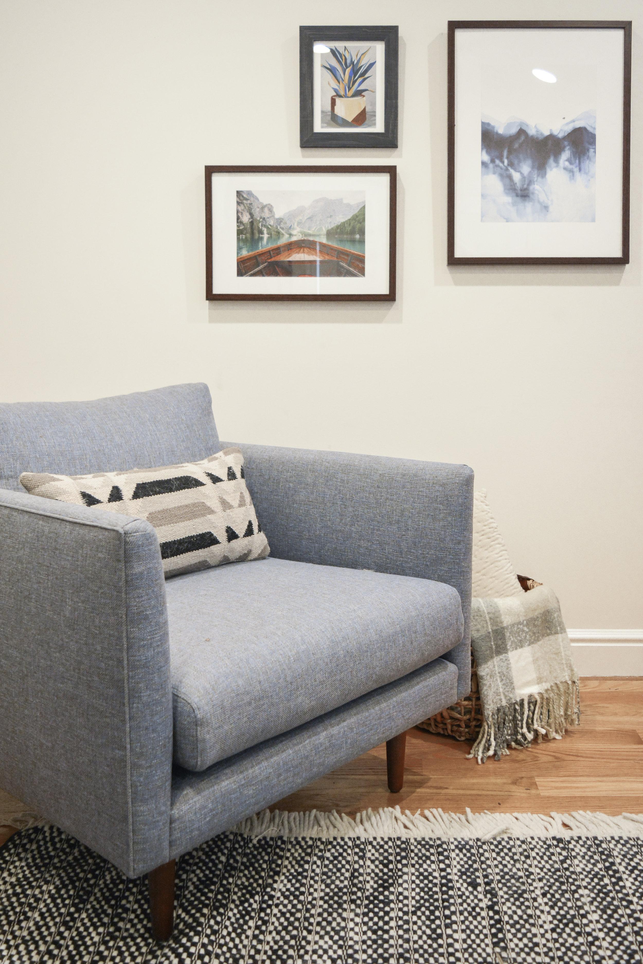 Angela Grace Design // Judah Living Room and Dining // San Francisco and SF Bay Area Interior Designer, Decorator