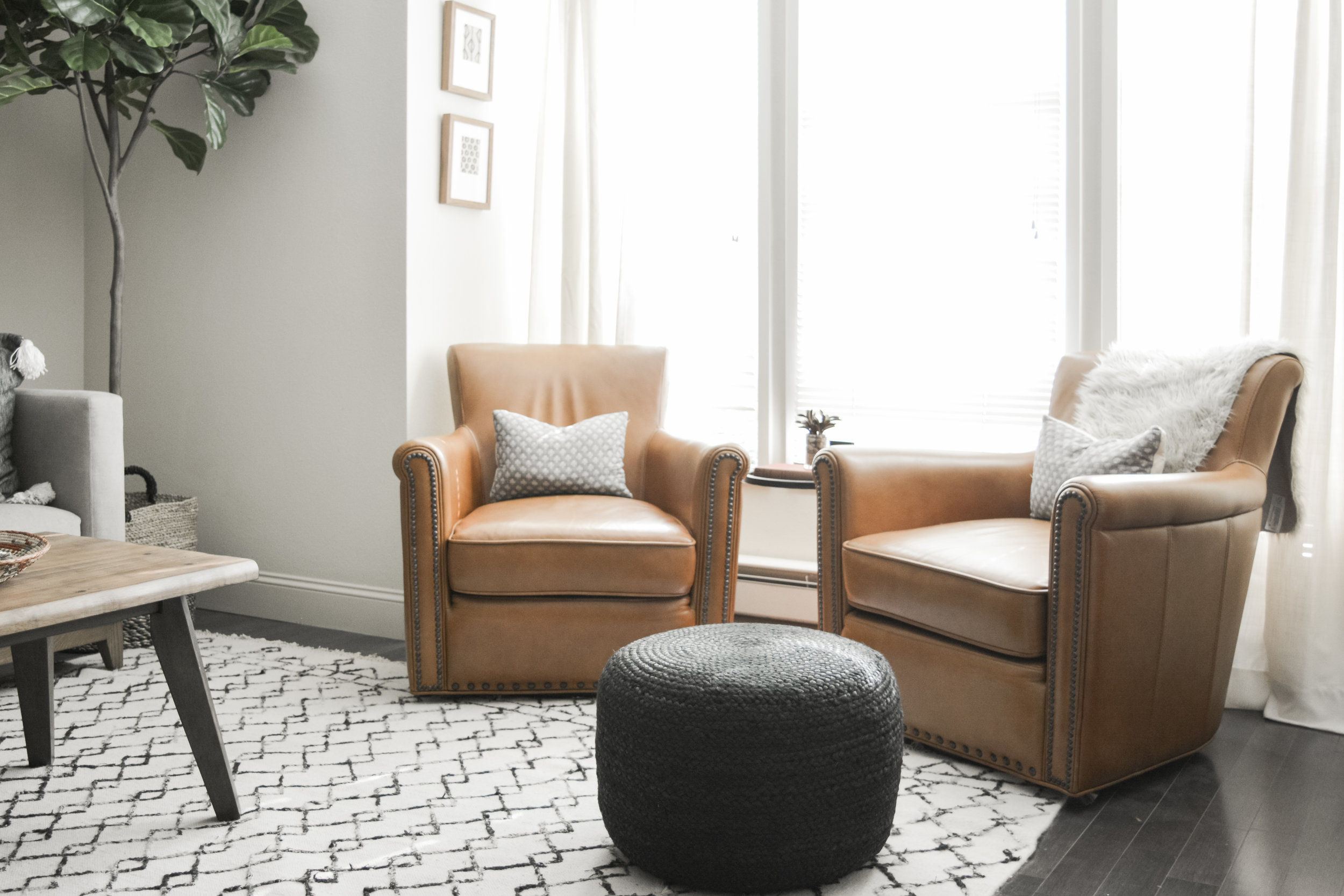 Angela Grace Design // Union Living Room // San Francisco and SF Bay Area Interior Designer, Decorator