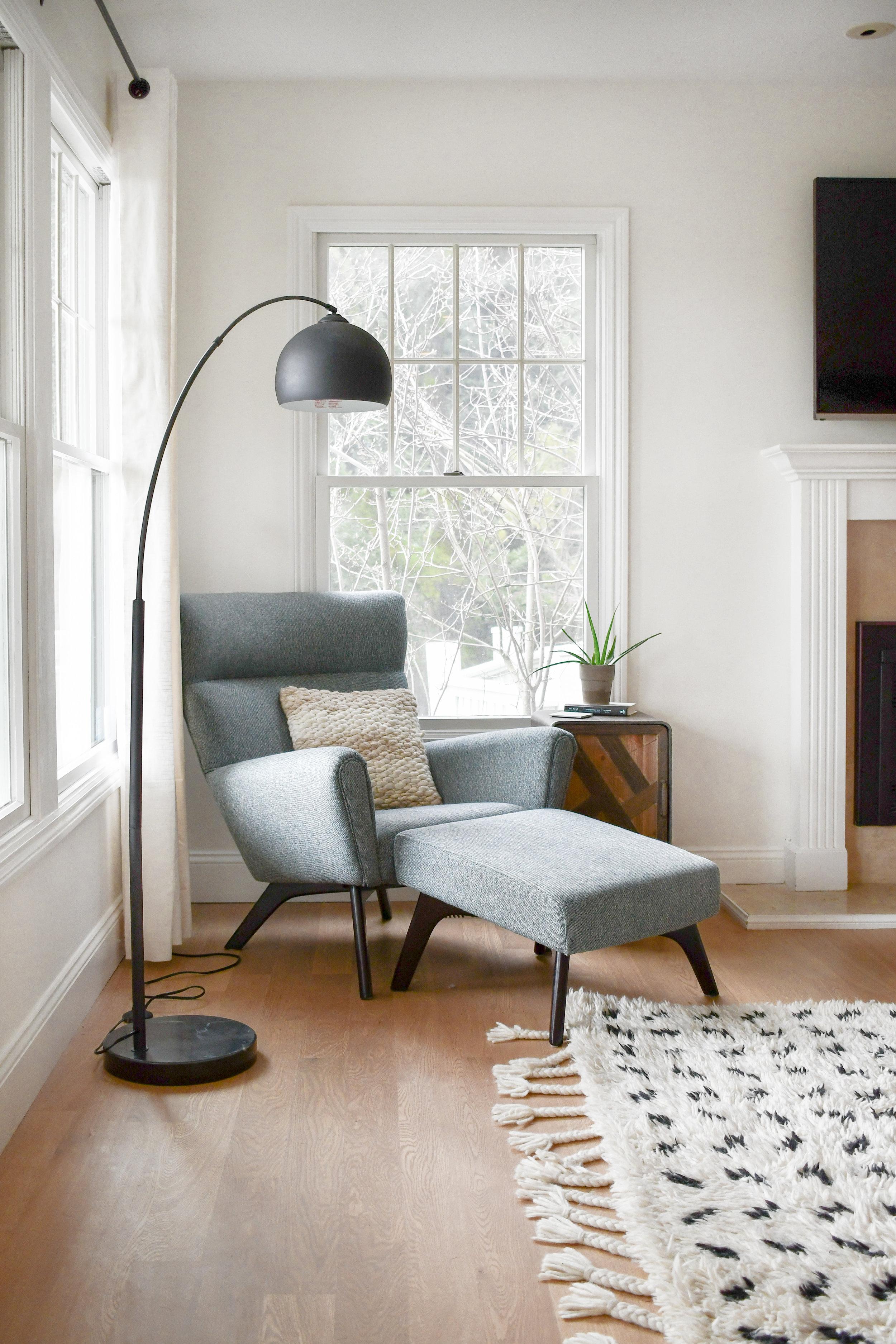Angela Grace Design // Canyon Living Room // San Francisco and SF Bay Area Interior Designer, Decorator