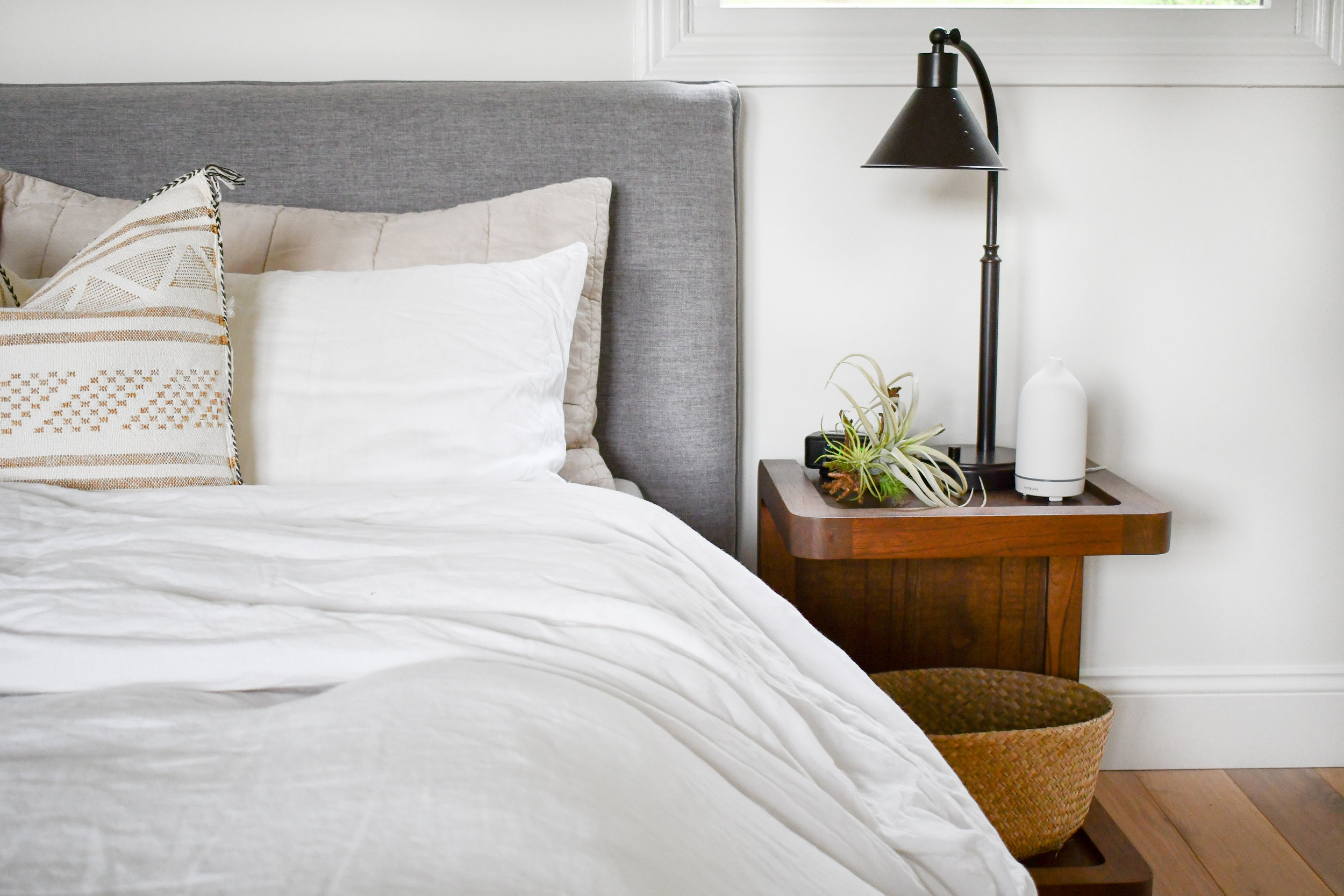 Angela Grace Design // Canyon Master Bedroom // San Francisco and SF Bay Area Interior Designer, Decorator