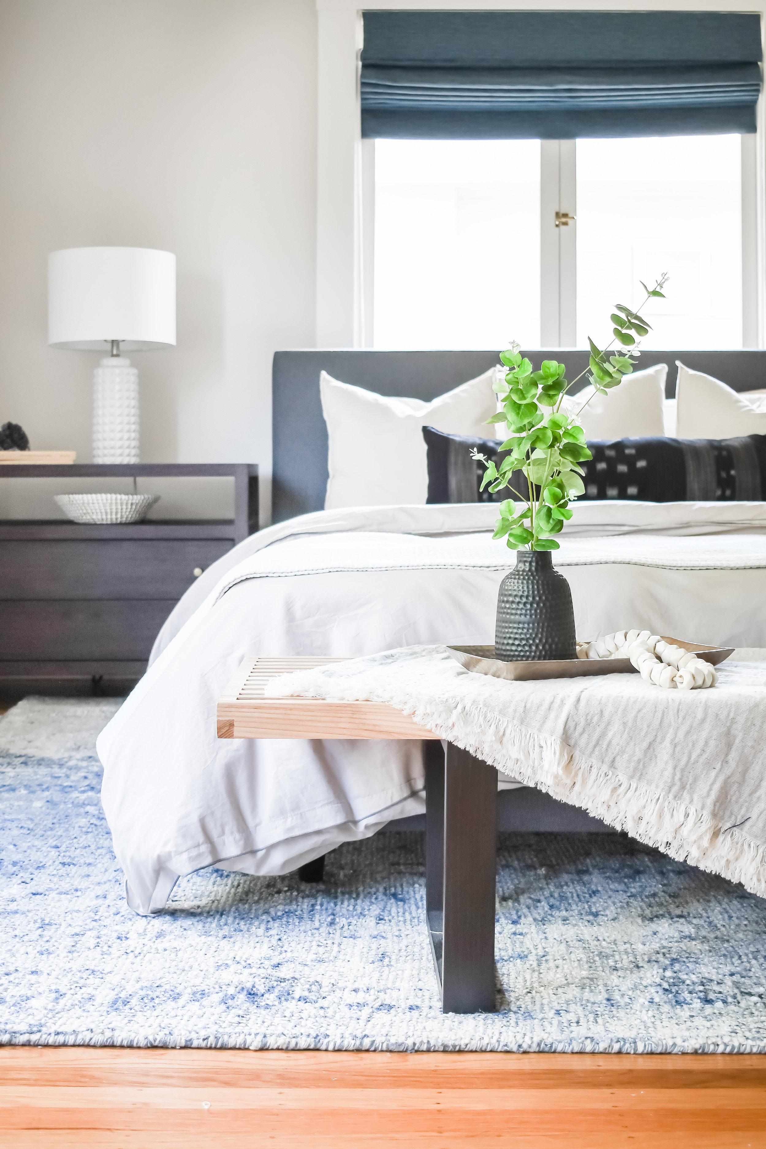 Angela Grace Design - Ashby Master Bedroom - San Francisco and SF Bay Area Interior Designer, Decorator
