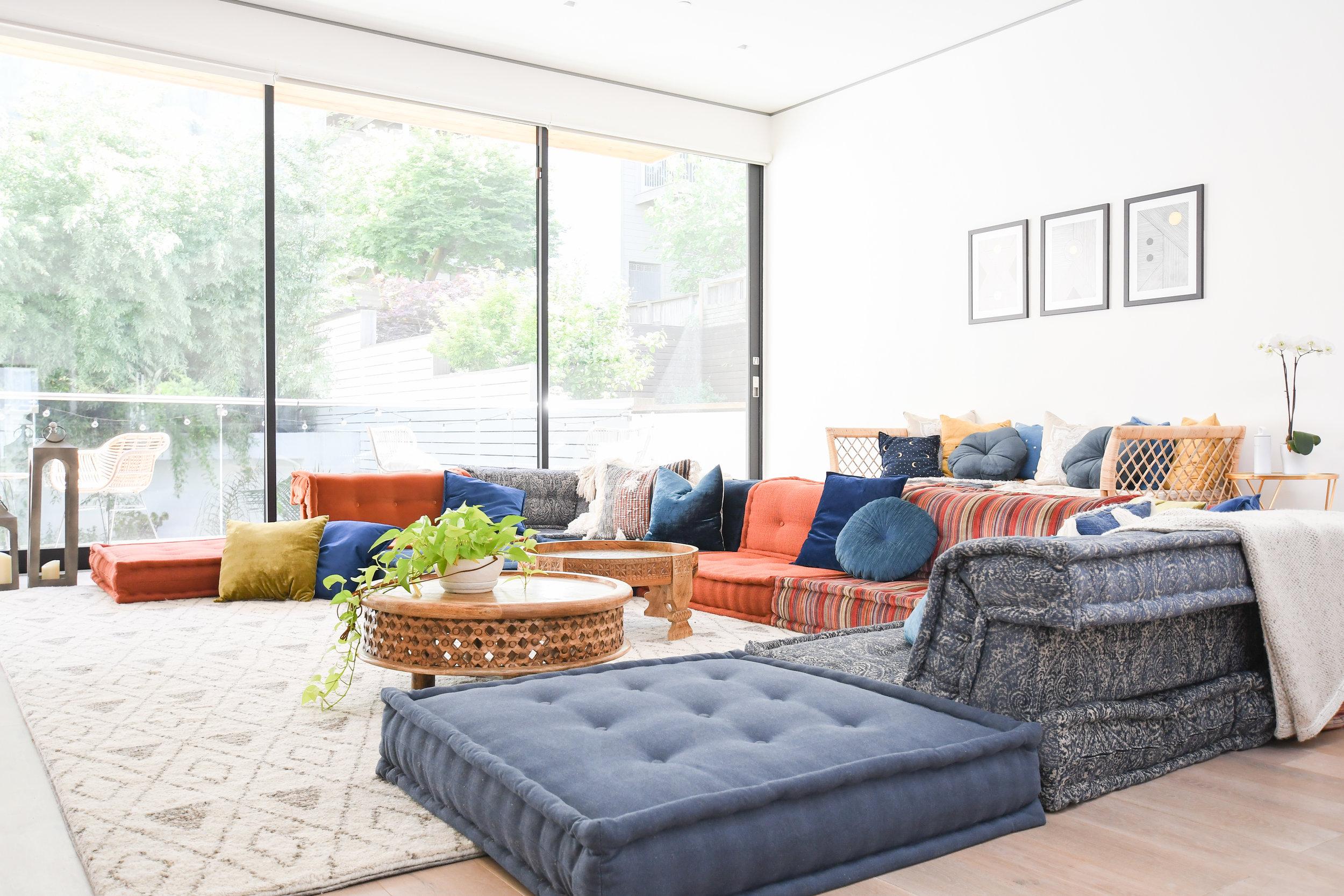 Angela Grace Design - Laguna Family Room - San Francisco and SF Bay Area Interior Designer, Decorator