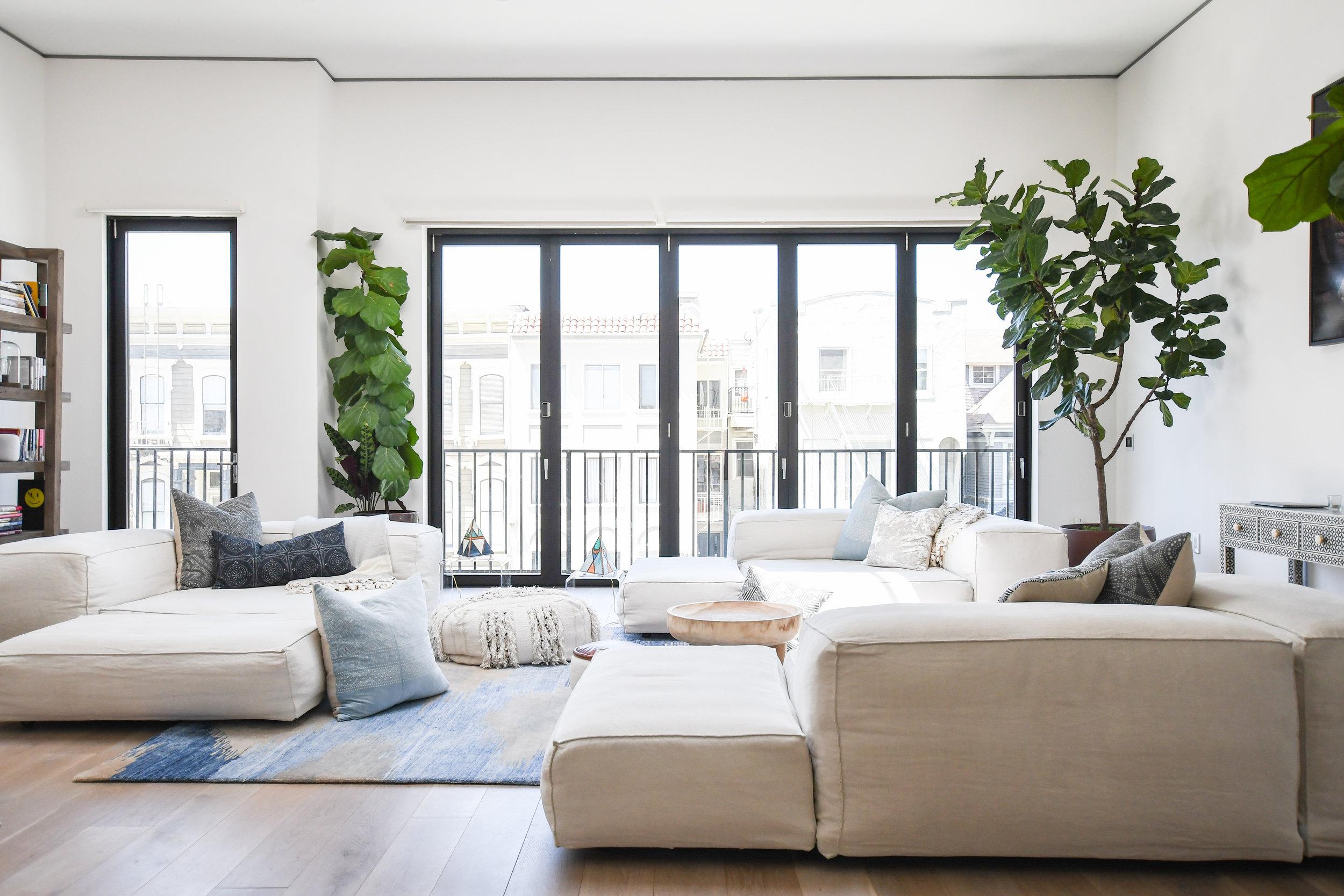 Angela Grace Design - Laguna Living Room - San Francisco and SF Bay Area Interior Designer, Decorator