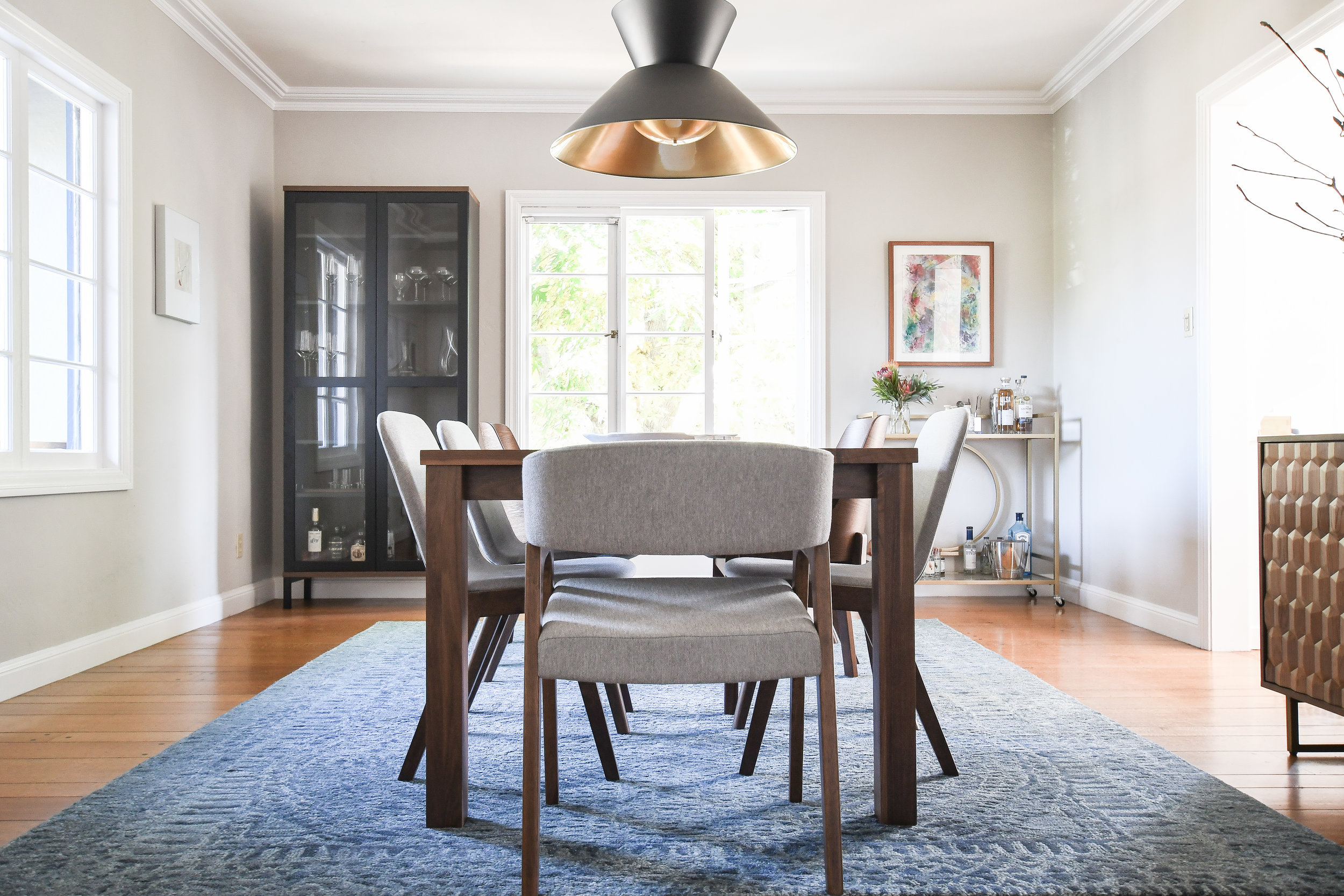 Angela Grace Design - Carlston Dining Room - San Francisco and SF Bay Area Interior Designer, Decorator