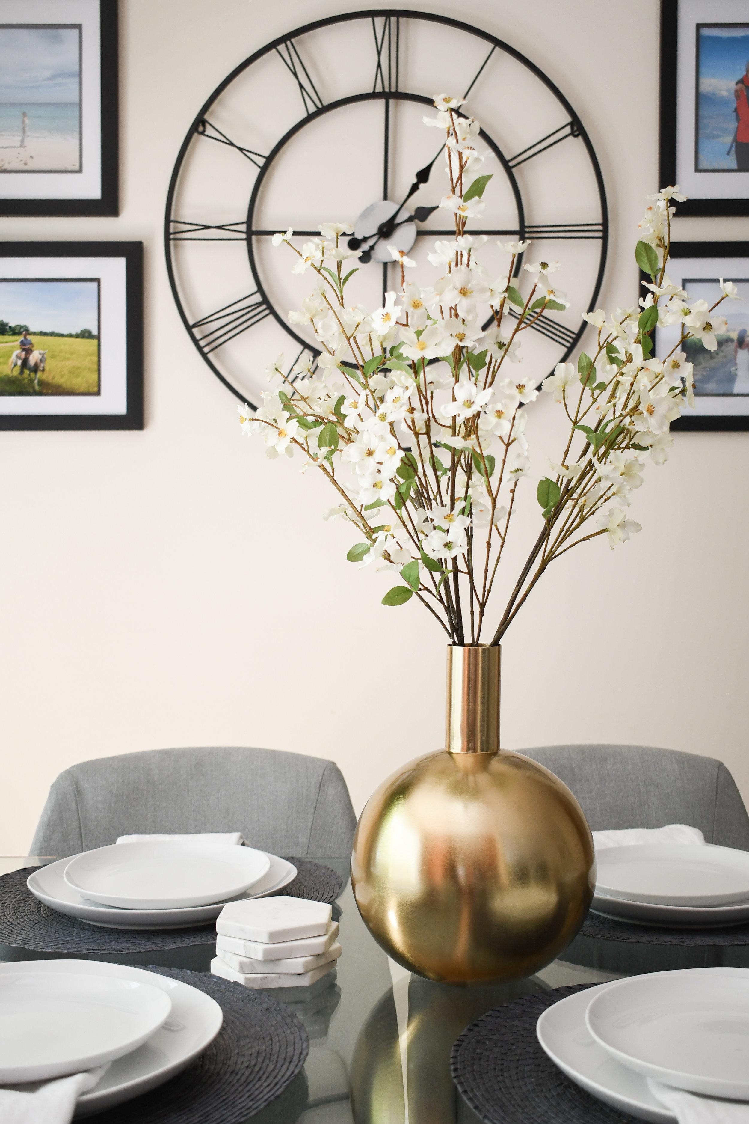 Angela Grace Design - Creekside Dining Room - San Francisco and SF Bay Area Interior Designer, Decorator