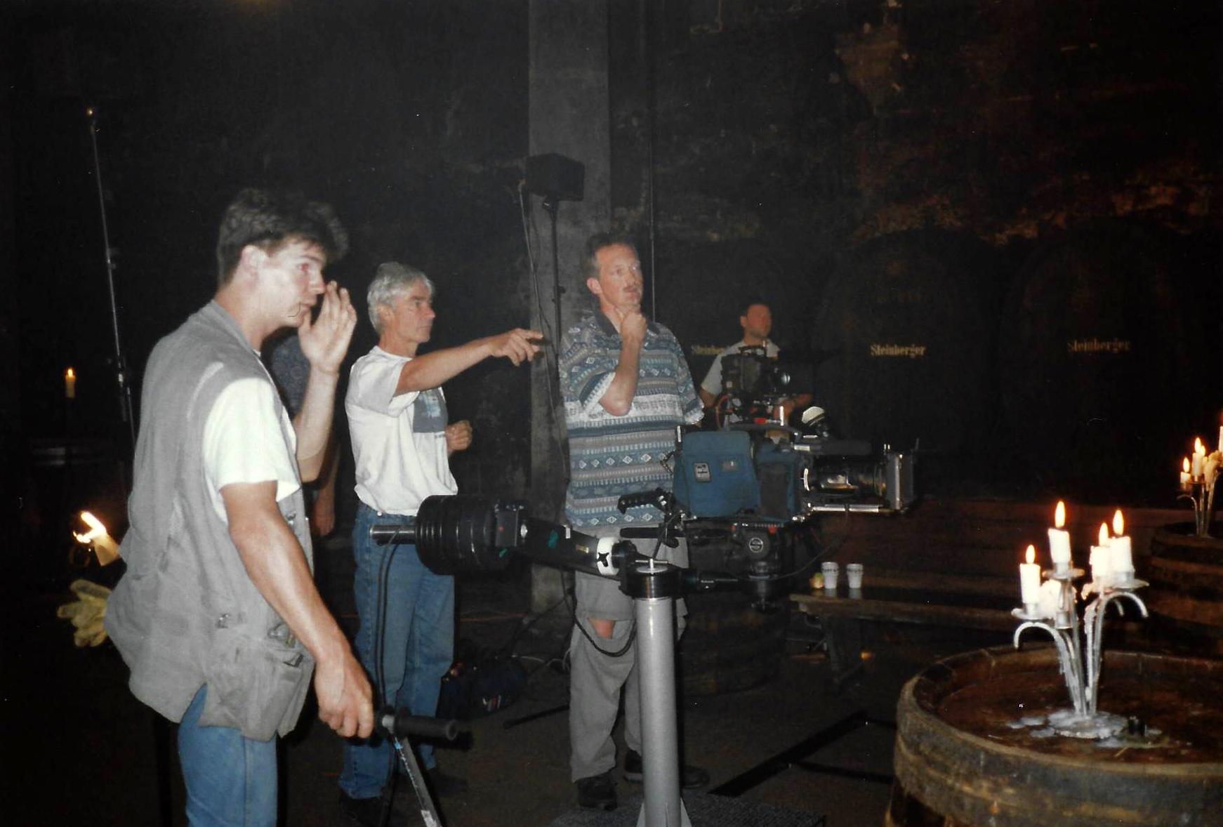 Laatste instructies voor opnames in de abdij van Eberbach