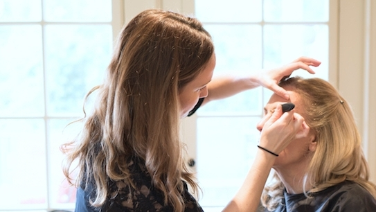 Services - Awaken to an Easy & New Experience with In-Home Hair, Makeup and Beauty Services →