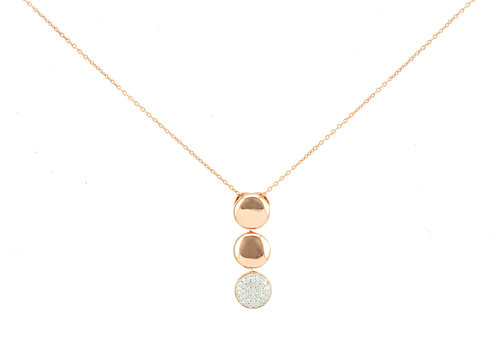 Birthday Gift idea Layered gold necklaces with a Hamsa pendant and golden square elements Free Shipping