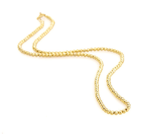Gold & silver necklaces -