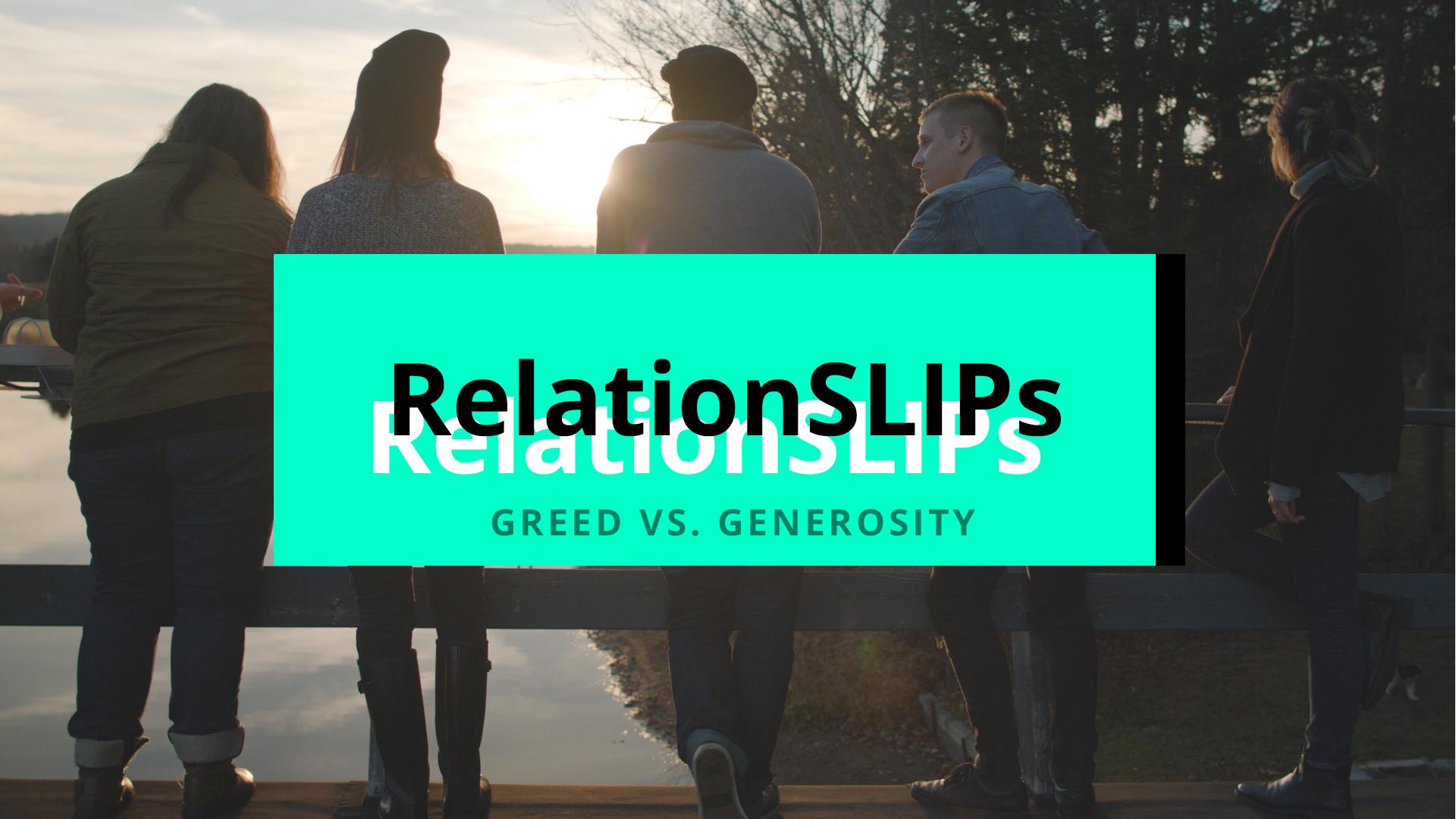 4 | Greed vs. Generosity