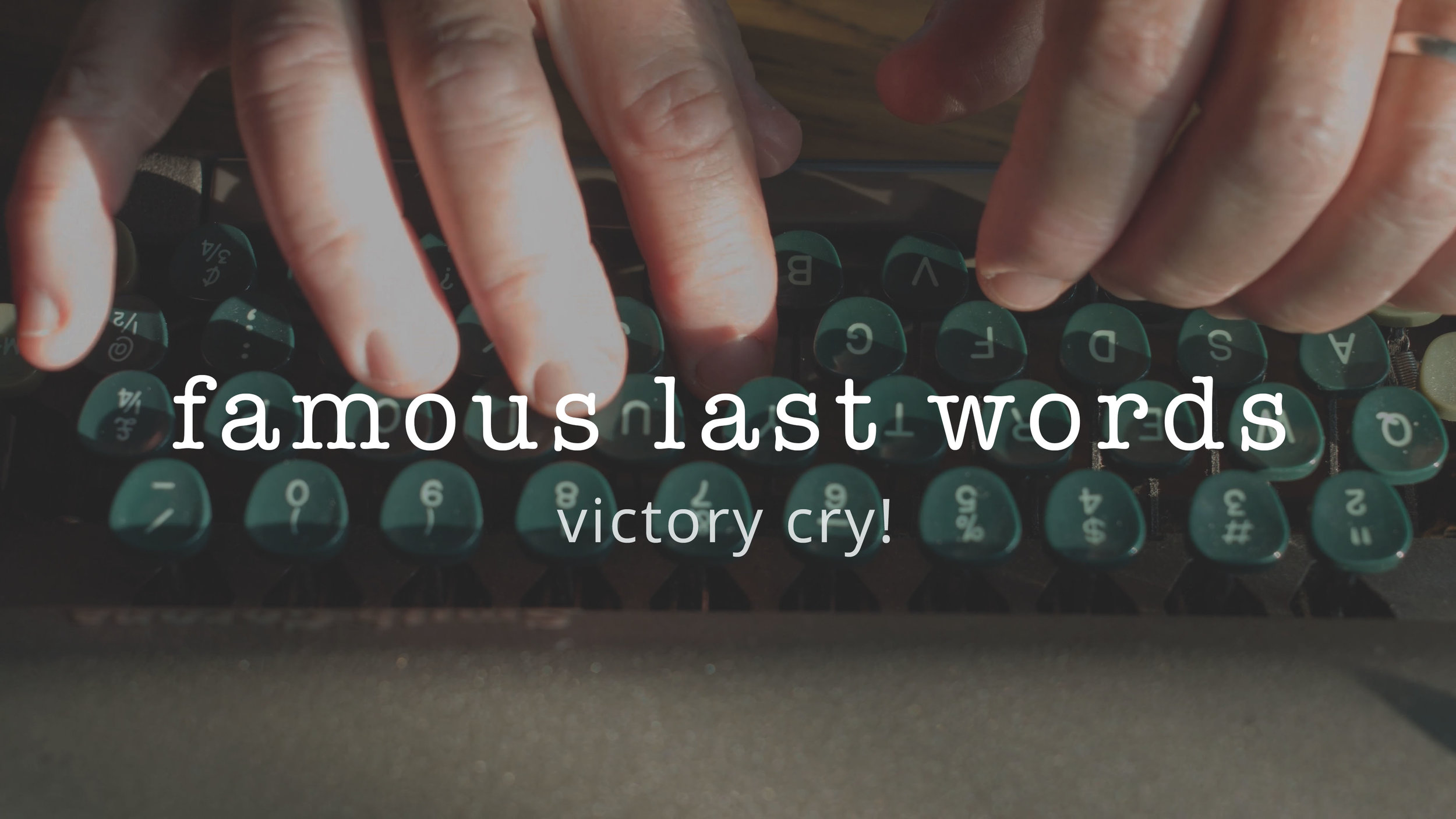 6 | Victory Cry!