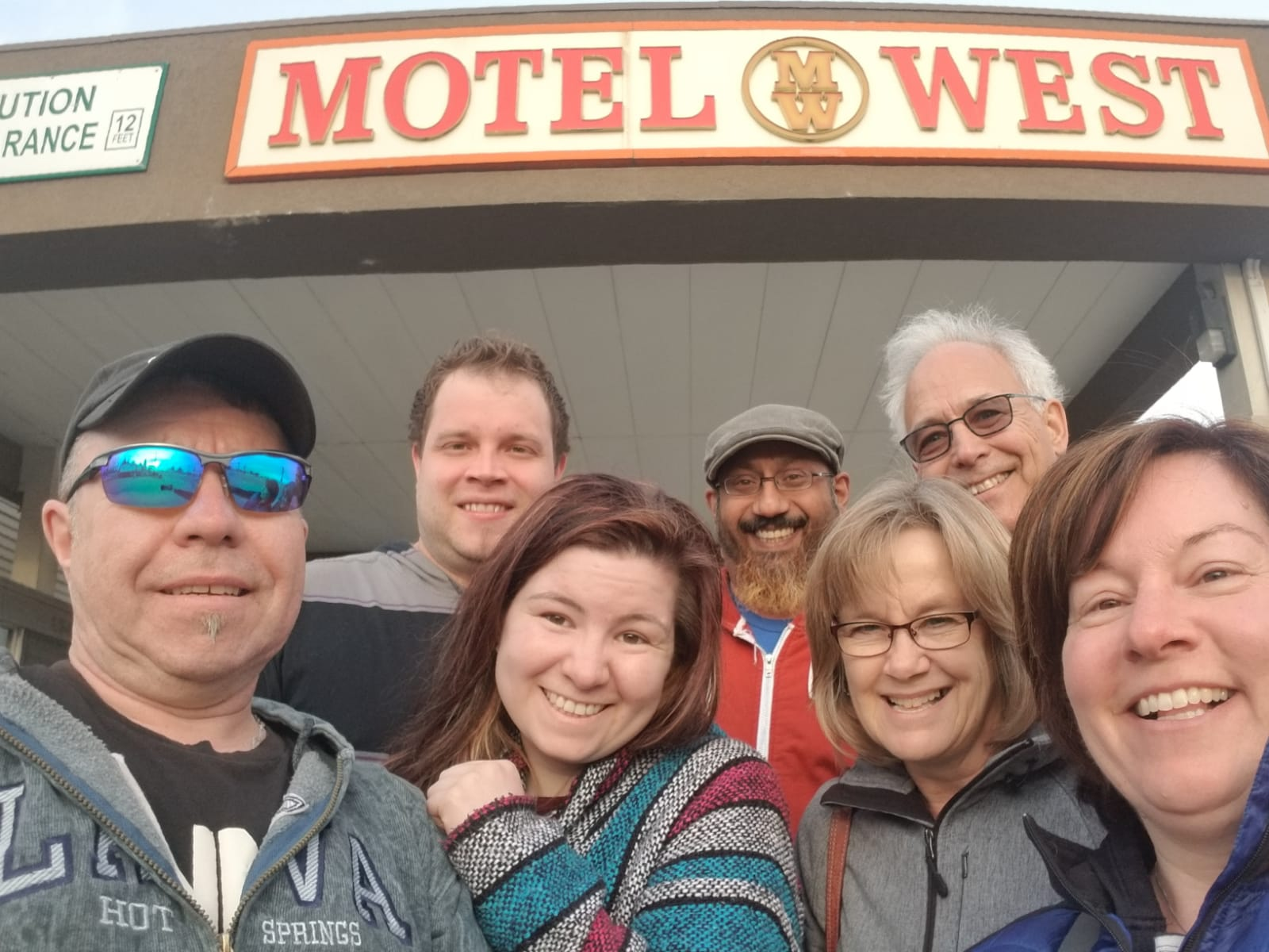 March 21st - Arrived safely in Idaho Falls; a 1050km drive from Langdon!