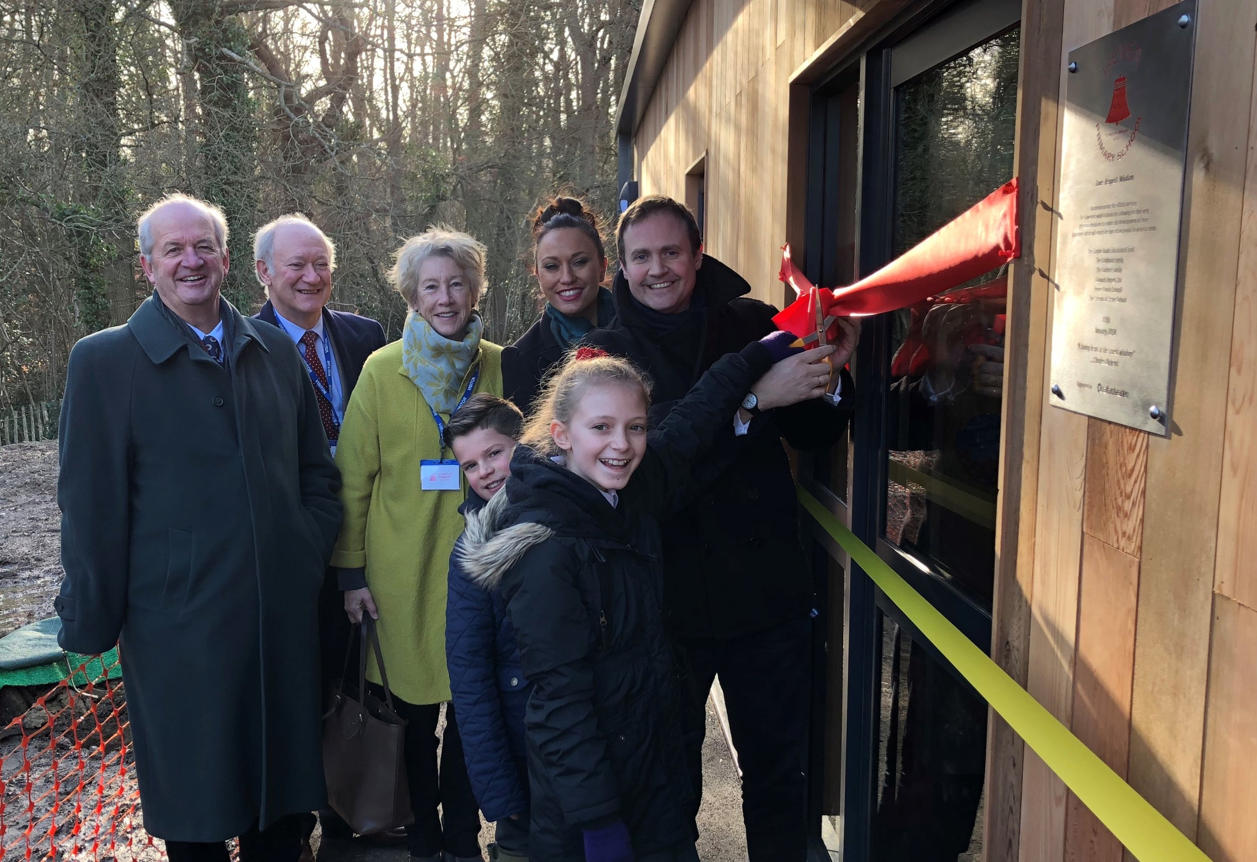 There's nothing like opening new schools to realise the importance of community. It was a huge privilege to open the new classrooms at Hever Primary School this morning and see again what staff, parents, governors and most of all children are doing to build a community and grow the roots that make confident, capable young people.