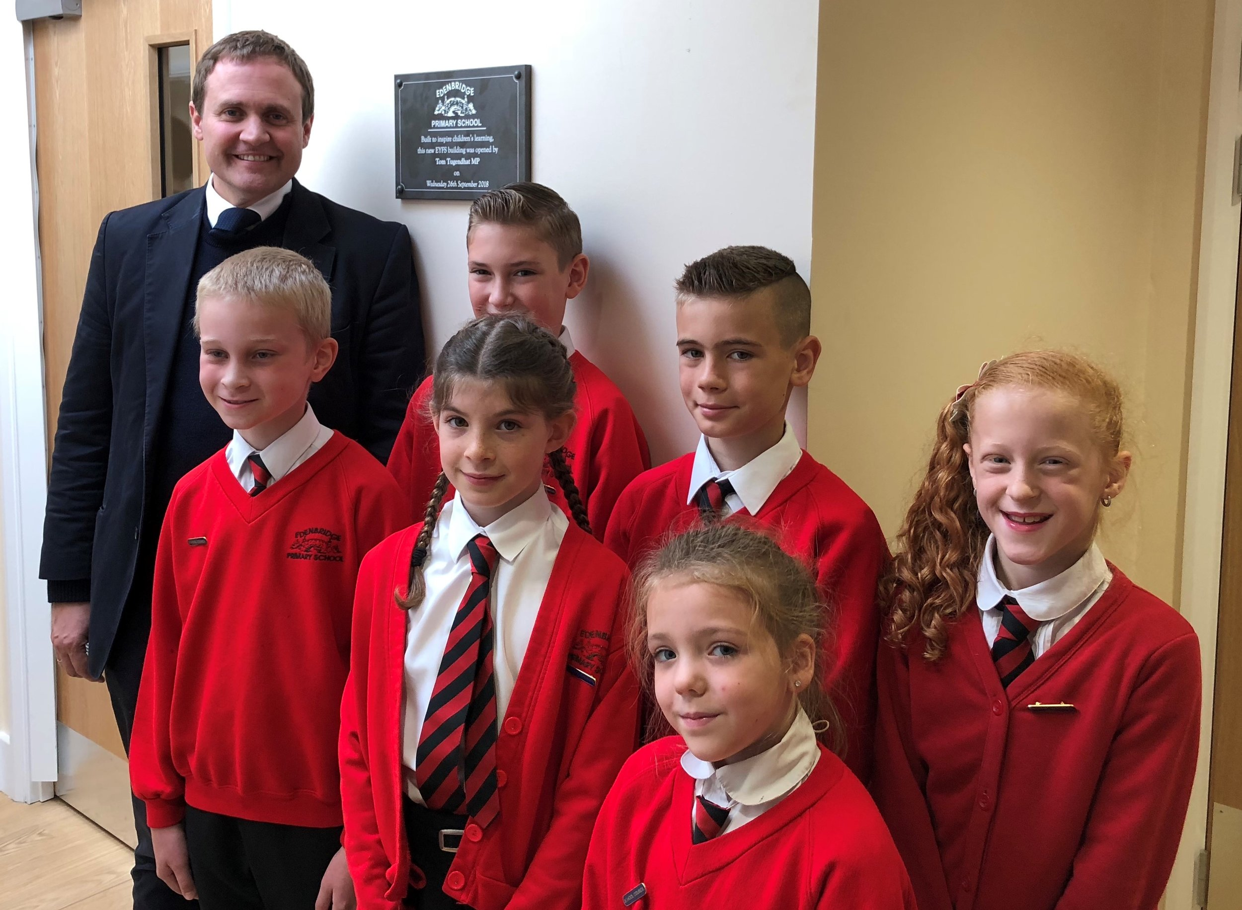 I was delighted to officially open the new classrooms at Edenbridge Primary School yesterday. They are in the process of a complete turnaround and The Pioneer Trust, who now run the school, have an ambitious vision to make the school one of the best in the local area.  It was a pleasure to spend time with them, pupils, and governors and hear just how excited everyone with the progress that can be made at the school.