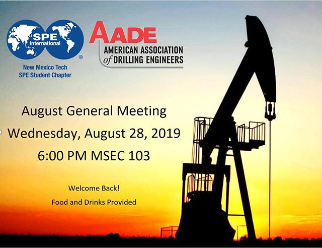 Reminder: August General Meeting tomorrow, August 28th at 6 PM in MSEC 103! Come get some food, and bring any questions you have! See you all there!