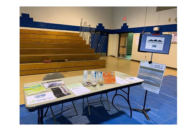 Another successful night at Sarracino Middle School for Science and Math Night! We look forward to this every year. We had a special little visitor tonight scroll through to see 👀 she's in Kindergarten and asked the best questions and after about 10 minutes started explaining to the older kids why core sampling is important! Mold young minds, and always encourage questions! #STEM #mathandsciencenight #NMTSPE #SPE #energy4me